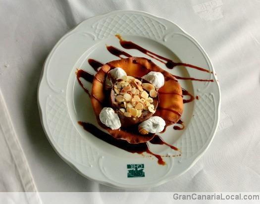 Restaurante Arcos de la Laguna's chocolate mousse