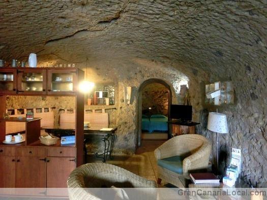 Casa-Cueva El Mimo interior
