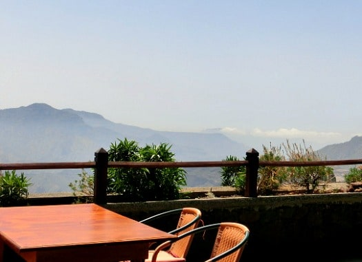 You'll never forget your meal at the Restaurante Mirador La Silla