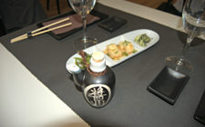 The table's set at Hito Japanese Restaurant