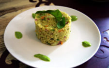 If you're a vegetarian on Gran Canaria, you'll love Zoe Food Las Palmas' quinoa with rocket pesto, tofu, and leek