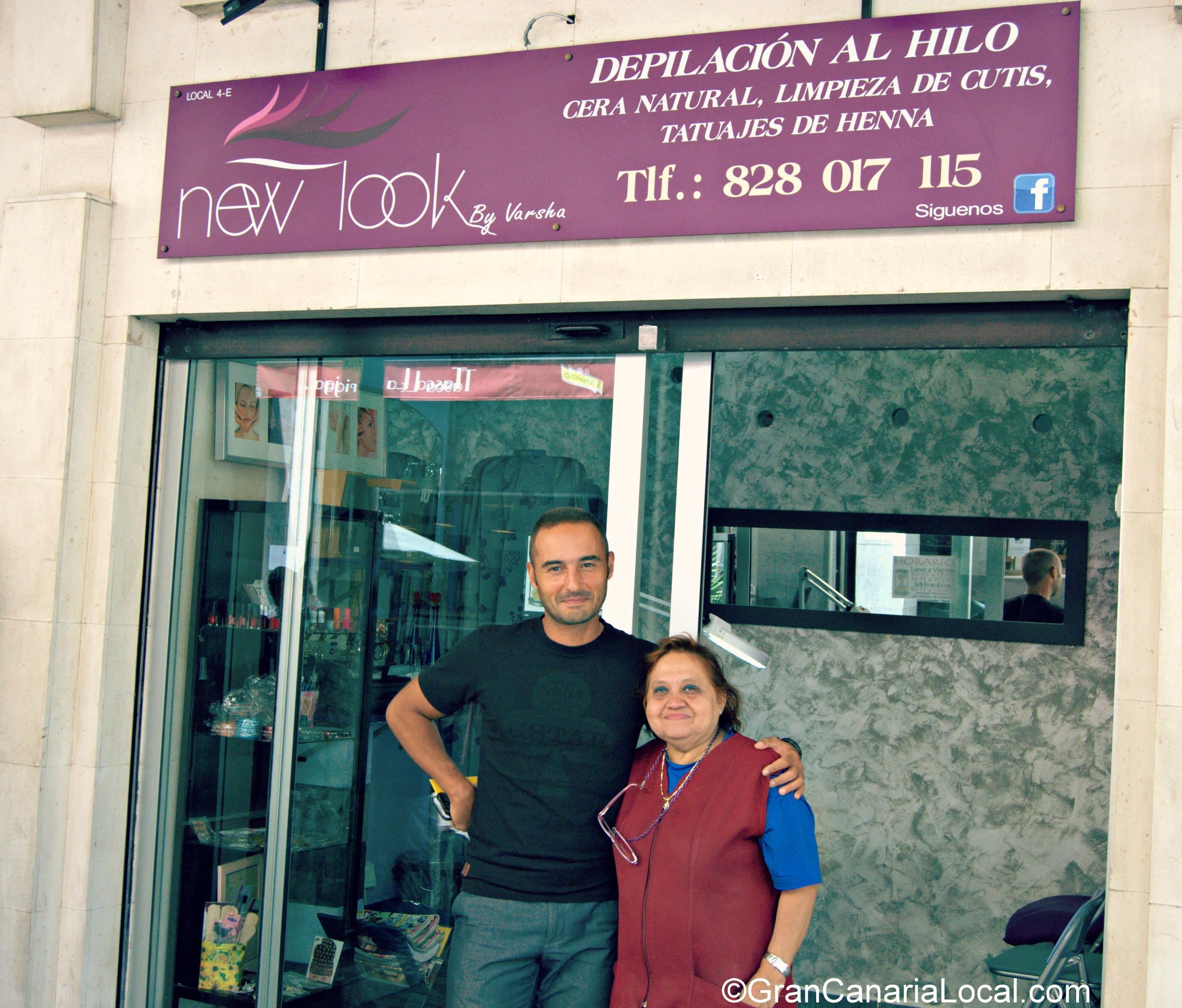 Mercado del Puerto manager with New Look owner Varsha
