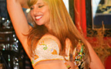 Restaurante Tehran's belly dancers put on a great show