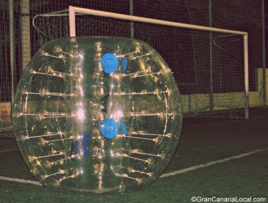 Bubble Football bubble minus player