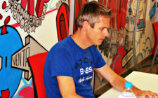 Jeroen Baidenmann at his GC office, CoWorking Canarias