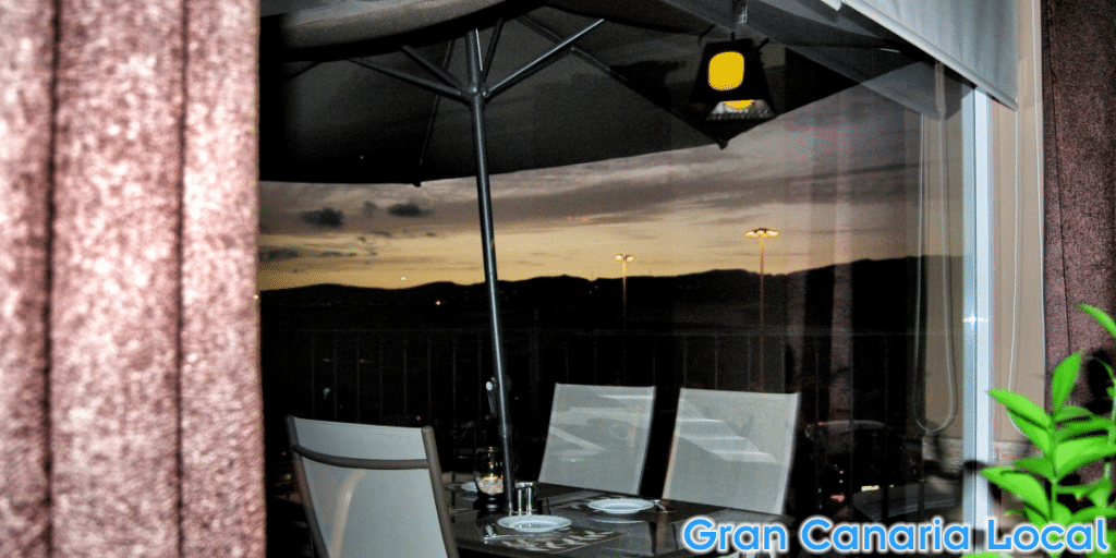 Gran Canaria sunsets are best enjoyed al freso