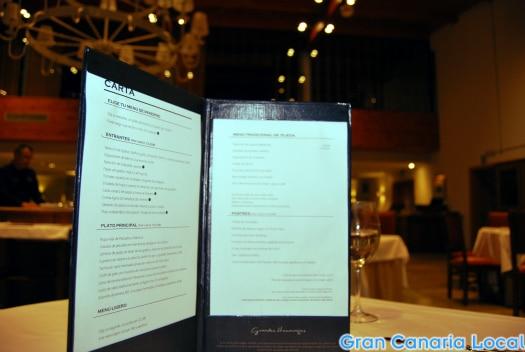 The Restaurante Marmitia menu
