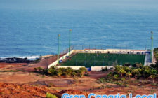 Gran Canaria football features many stadia next to the Atlantic Ocean