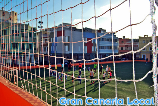 Gran Canaria football likes to involve the adults too