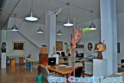 The coworking space at Soppa de Azul