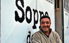 Alecs Navio, the owner of Soppa de Azul
