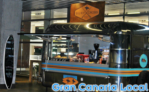 There's plenty of places to eat and drink at Gran Canaria airport