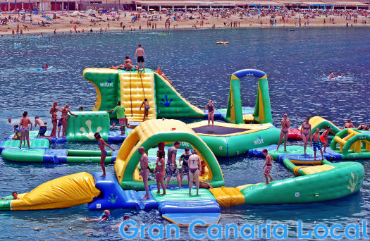 Amadores beach water park