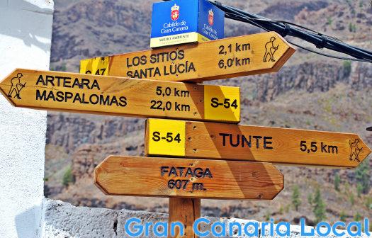 Fataga hiking central