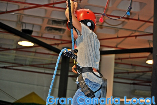 Gymkana's one of the main venues for kids' birthday parties in Gran Canaria