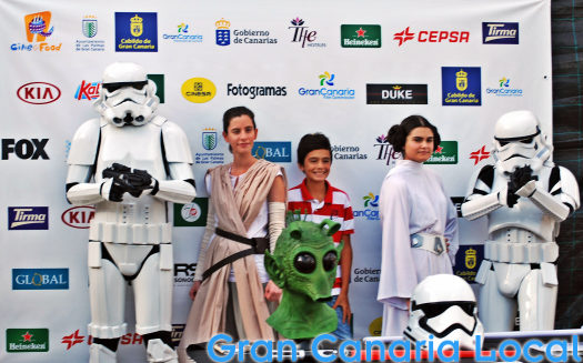 Watch out for the film characters at Cine+Food