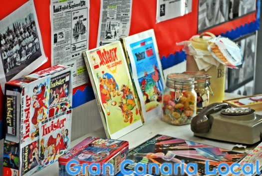 British School of Gran Canaria 50th anniversary display