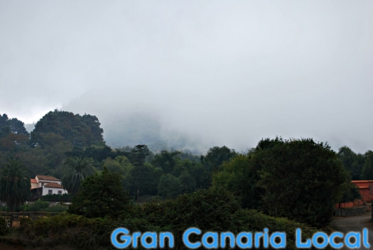 The clouds descend on the Gran Canaria Walking Festival 2016