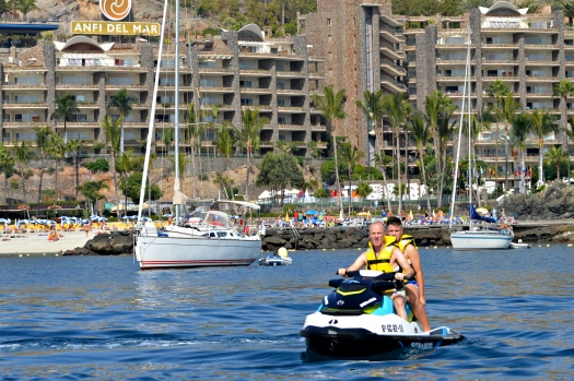 Ride alone or as a duo on an Atlantic Wake Jetski Tour