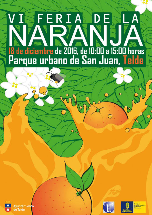 The VI Feria de la Naranja, the latest Telde event