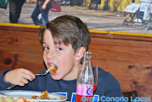 Gran Canaria Local Junior at Pizzeria Caminito