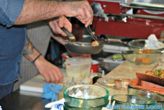 La Barra de Traddiction kitchen