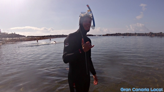 GCL's Dani goes snorkelling with Davy Jones Diving
