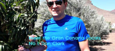 Don Clark at home in Gran Canaria