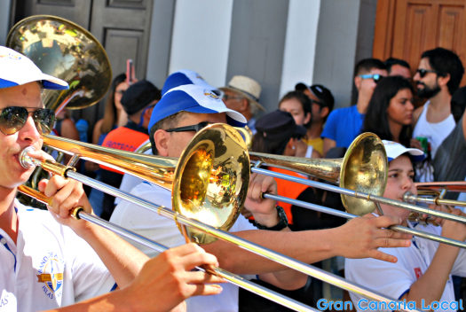 Fiesta de La Rama's famous for its love of brass