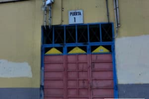 UD Las Palmas' old stadium entrance