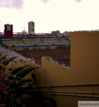 The abandoned UD Las Palmas stadium