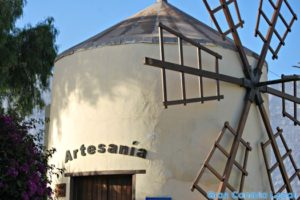 La Aldea de San Nicolas' tourist information office, a converted windmill
