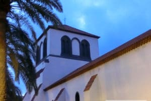Early morning at Las Palmas de Gran Canaria's Holy Trinity Church