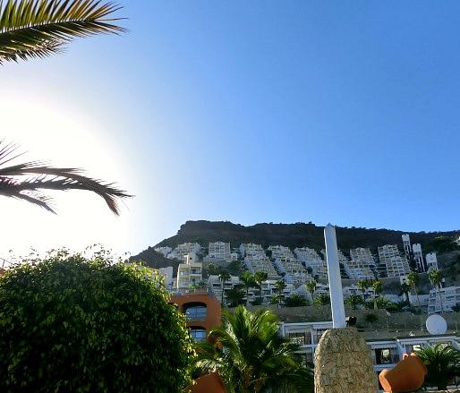 Playa del Cura skyline