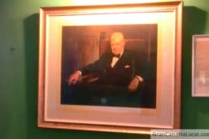 Winston Churchill on show at Las Palmas de Gran Canaria's British Club