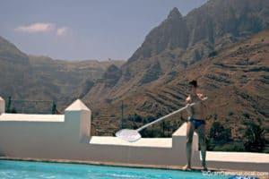 La Asomadita pool