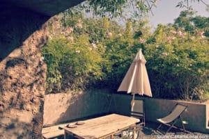 Chill outside at El Caserio de San Jose de Las Vegas