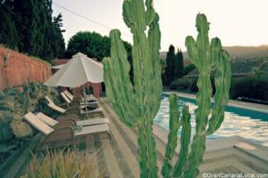 The swimming pool at El Caserio de San Jose de Las Vegas