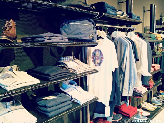 The sports casual section at ROES Moda Hombre