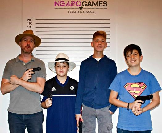Did the Gran Canaria Local boys become made men at La Casa de los Enigmas?