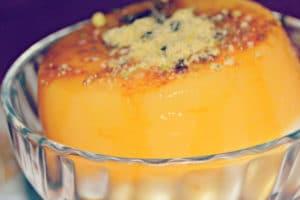 Restaurante Tehran's flan de naranja's a fragrant dessert alright