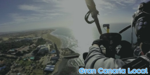 Gran Canaria's clear skies are perfect for flying with Sky Rebels