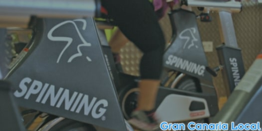 The spinning room is one of the most popular areas at MacroFit Las Palmas