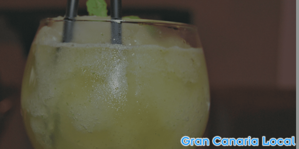 Cooling off is easy with a La Guarida del Blues frozen mojito
