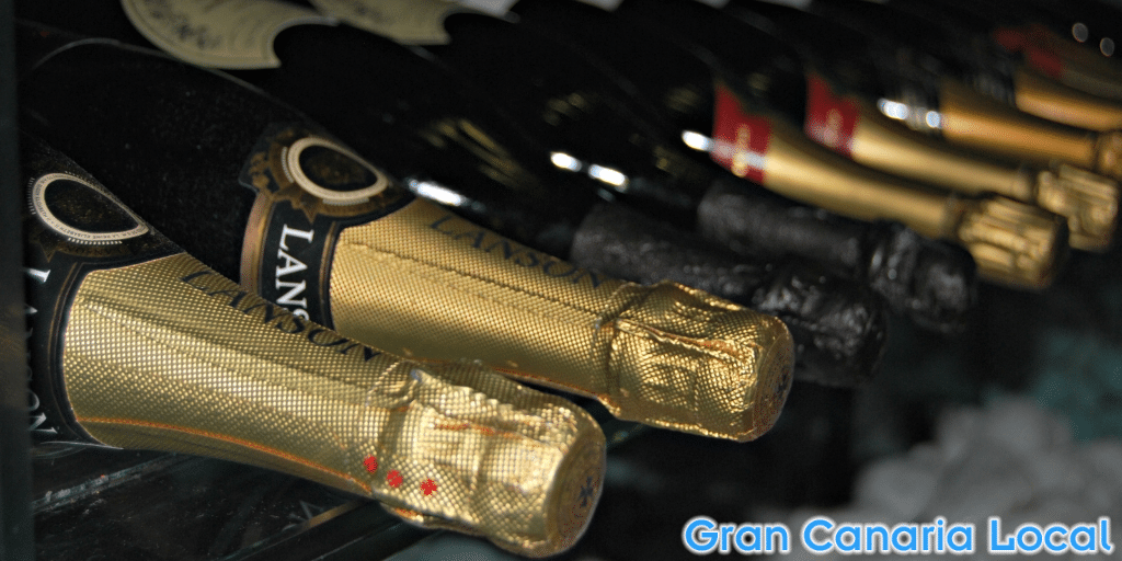 The Restaurante Summum wine cellar
