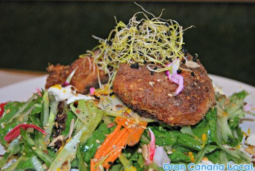 Quinoa and salad make a great combo at Dara Feeling Food