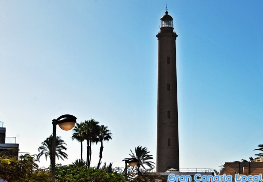 The Faro de Maspalomas is Gran Canaria's most impressive lighthouse