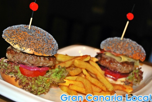 The mini Angus burgers at Café Regina