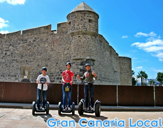 The Castle of Light is on the Segway LPA itinerary