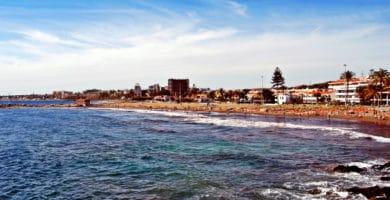 San Agustín's Playa de Las Burras